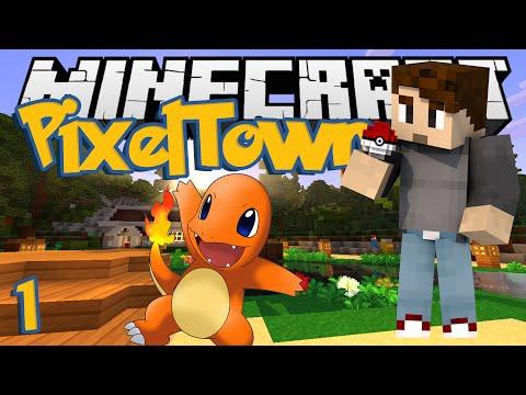 Minecraft pixeltown ep 10 mega evolution minecraf - Pixelmon ep 1 charmander ...