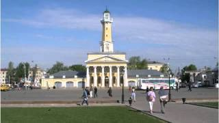 Russian cities, Kostroma, photo, video