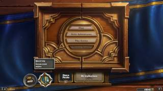 [HearthStone] All Heroes & Every Card in Gold