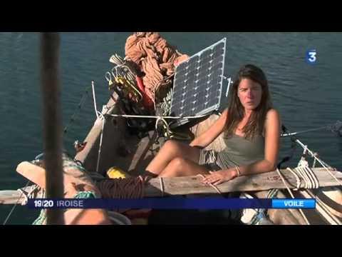 Transat Bretagne-Martinique: rencontre avec Capucine Trochet (Tara Tari)