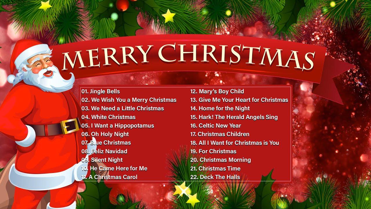 Classic Christmas Music Playlist Best Christmas Music Playlist Top Christmas Songs Mix Youtube