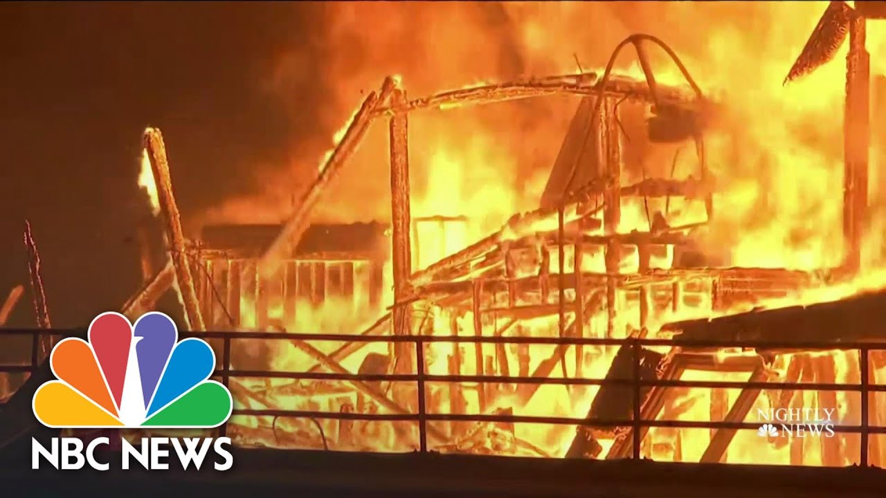 Wildfires Across The West Create Hazardous Air Conditions | NBC Nightly News