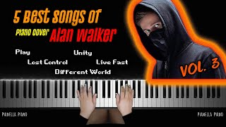 Download BEST SONGS OF ALAN WALKER VOL. 3 | Piano Cover by Pianella Piano