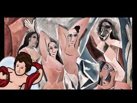 Les Demoiselles d'Avignon; OLD VERSION