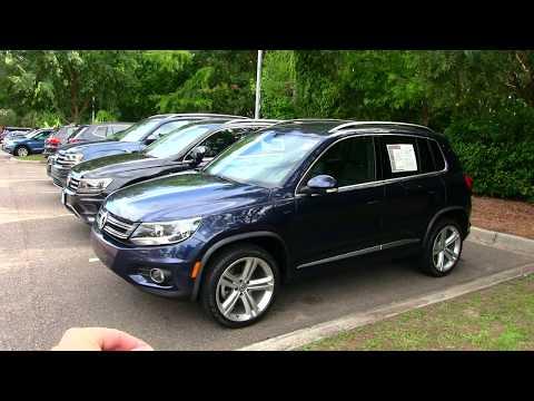 2016 VW Tiguan R Line Review @ Low Country VW - Mount Pleasant, SC