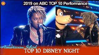 "Uche ""Eye to Eye"" from A Goofy Movie | American Idol 2019 Top 10 Disney Night"