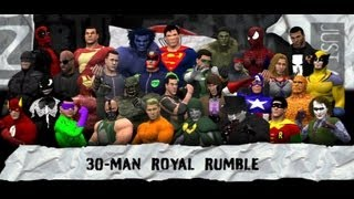 WWE 13 | Comic Book Royal Rumble