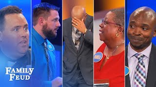 Family Feud's BEST BLOOPERS and EPIC FAILS!!! | Part 12