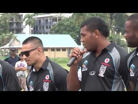 Fiji Bati's Home Support  (Produced for World Cup TV & Fiji Media)