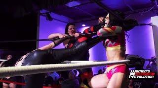 [Free Match] Thunder Rosa & Holidead vs. Davienne & Belmont | Women's Wrestling Revolution (Stardom)