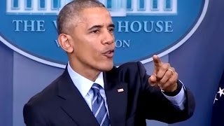 Obama Stops Press Conference to Help Reporter Who Fell Ill