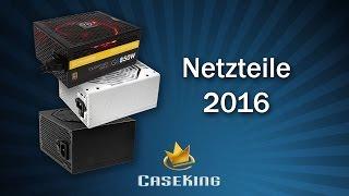 Netzteil Beratung mit aktuellen Watt Empfehlungen 2016 - Caseking TV