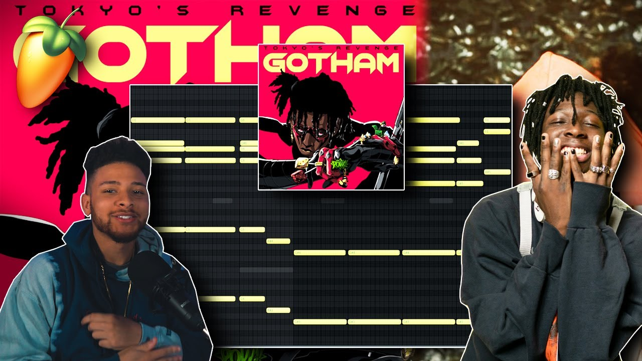 """How To Make HARD Beats Like """"GOTHAM"""" For TOKYO'S REVENGE In 5 Minutes! (THIS IS CRAZY)!"""