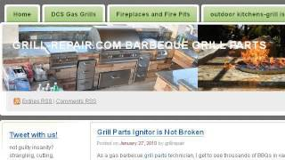 how to change the battery for the ignition on a dcs gas grill