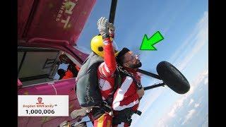 AM SARIT CU PARASUTA! (video special 1 Milion de Abonati) 4000m