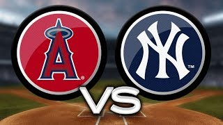 Game 22-162 The New York Yankees vs The LA Angels. LIVE play by play STREAM April 22 2019