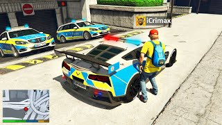 Ich KLAUE alle POLIZEI LUXUS AUTOS in GTA 5 RP!