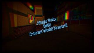 Piggy Book 2   Solo Speedrun Alleys 3:56   {Beaten World Record}
