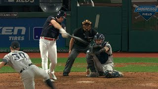 NYY@CLE Gm2: Bruce hits game-tying solo homer in 8th