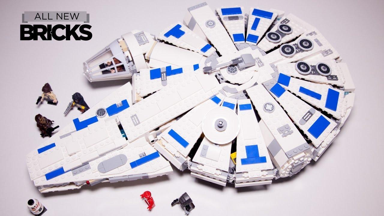 Lego Star Wars Kessel Run Millennium Falcon Lego Speed Build 75212