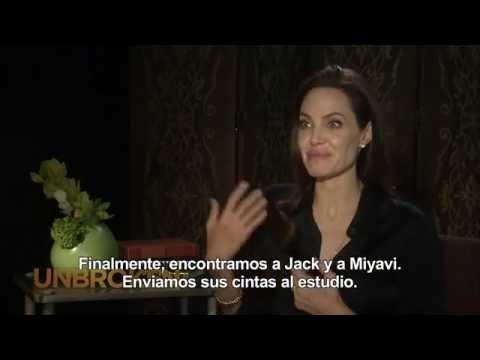 INVENCIBLE (UNBROKEN) - Entrevista a Angelina Jolie