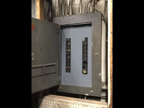 Replacement cover for electrical panel; cover for electrical load center circuit breaker box