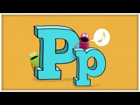 "ABC Song: ""The Letter P"" by StoryBots"