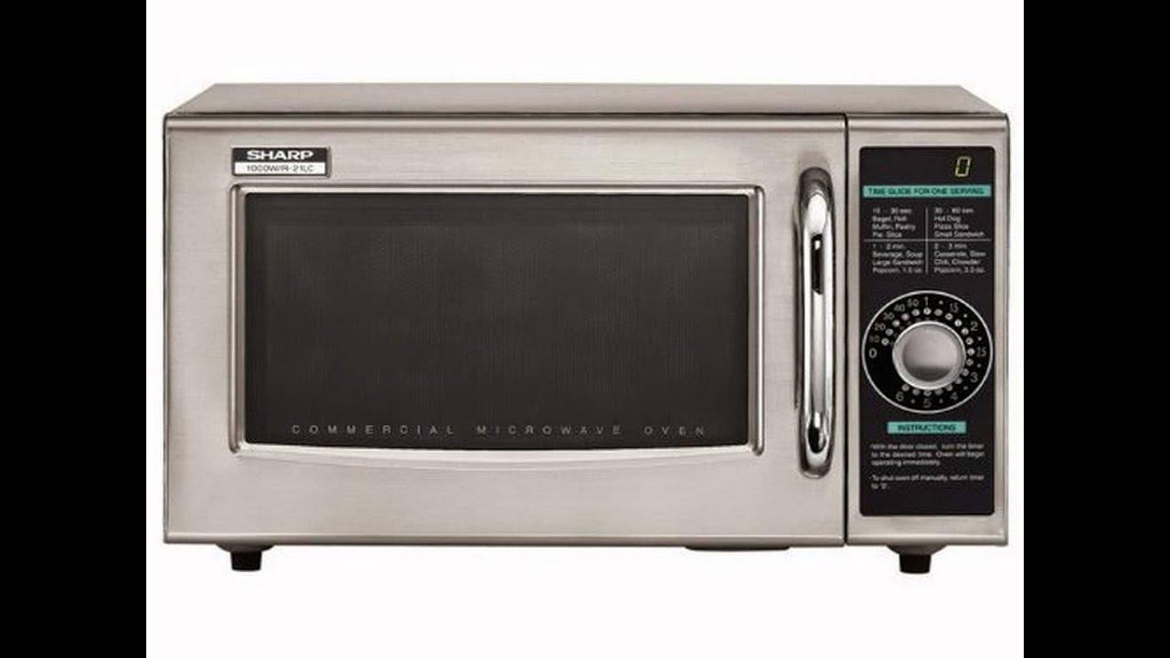 Sharp Medium Duty Commercial Microwave 1000 Watt Reviews