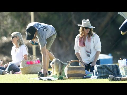 Julia Roberts And Danny Moder Are Sexy Soccer Parents