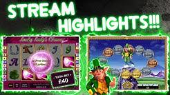 £40 Lucky Lady's Charm Bonus!!!! Rollercoaster Stream!!!