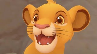 THE LION KING   Kingdom Hearts   Video Game ᴴᴰ
