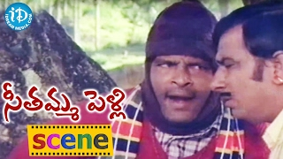 Seethamma Pelli Movie Scenes - Nutan Prasad Gives Wrong Information About Revathi To Rallapalli