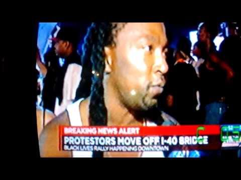 Breaking News Alert!!! #blacklivesmatter shuts down I-40 Memphis, TN