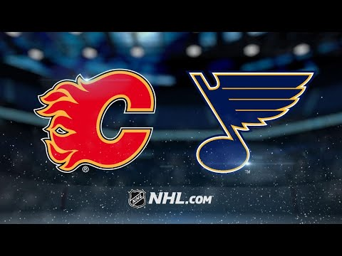 Steen shines as Blues roll past Flames, 5-2