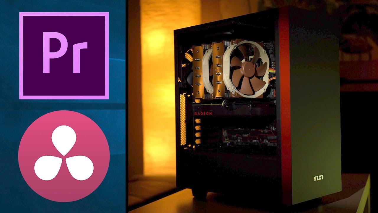 $998 AMD RYZEN 4K video editing BEAST! Premiere & Resolve