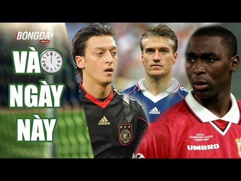 Vào ngày này   15.10   Sinh nhật Andy Cole, Didier Deschamps, Ozil