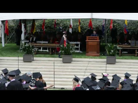 2015 Occidental College Commencement Ceremony