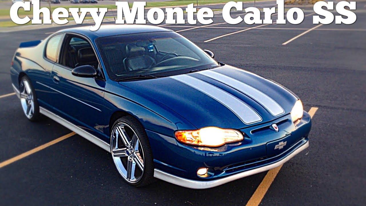 "Ss Monte Carlo >> 2002 Chevy Monte Carlo SS On 22"" Irocs Walk Around - YouTube"