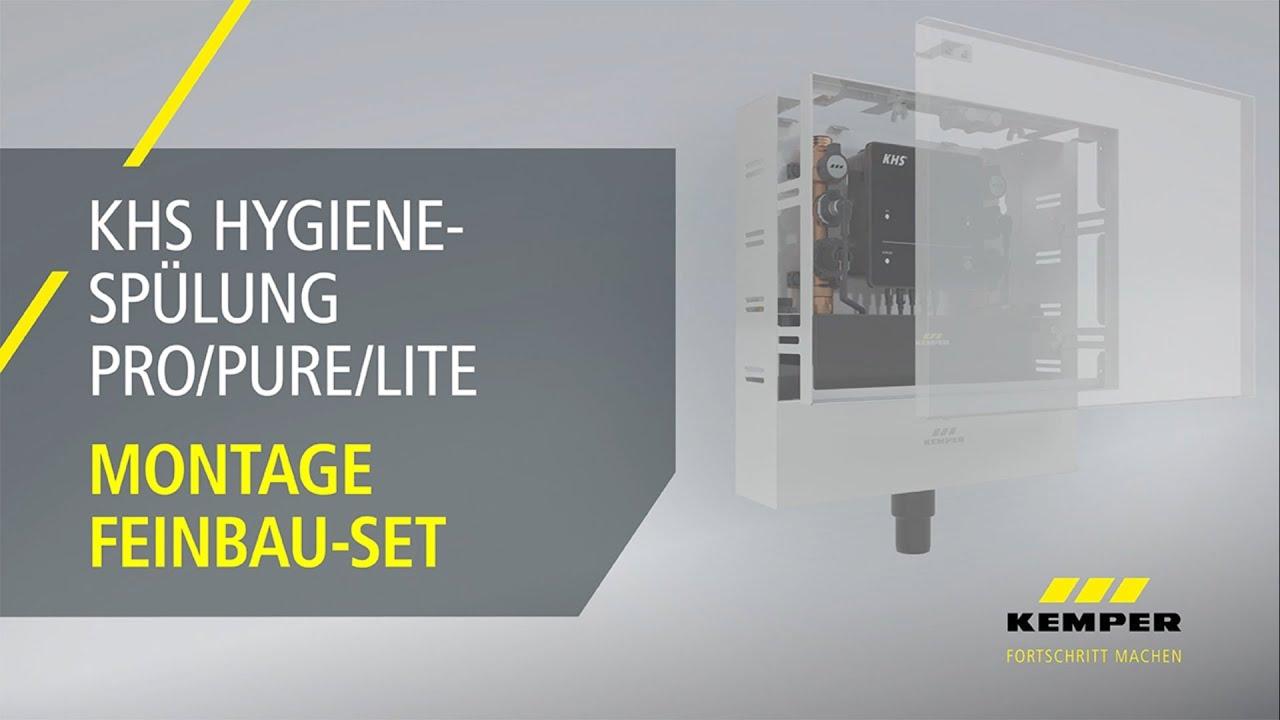 Youtube Video: Montage Feinbau-Set KHS Hygienespülung PRO/PURE/LITE