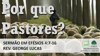 Por que pastores? - Efésios 4:7-16