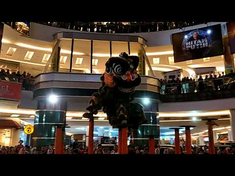 Barongsai indonesia makassar @trans studio mall for chinese new year 2018
