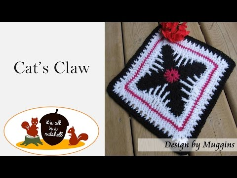 Cat's Claw - Crochet Square