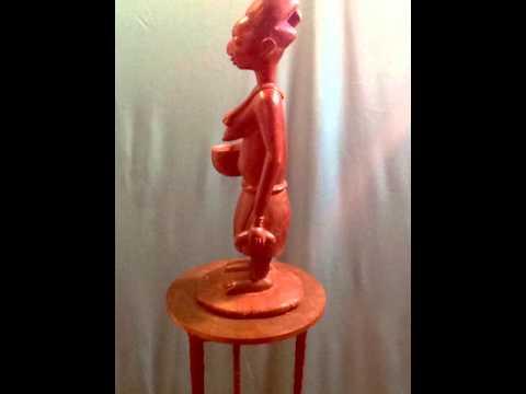 Lavan Galleries African Masterpieces Yoruba Women Figure