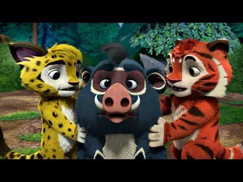Лео и Тиг сборник серий с 19 по 21  Детям про животных   Мультфильм HD