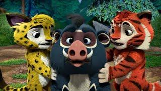 Лео и Тиг сборник серий с 19 по 21| Детям про животных | Мультфильм HD