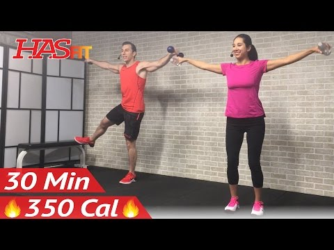 30 Min Low Impact Cardio Workout for Beginners & People Who Get Bored Easily HIIT Beginner Workout