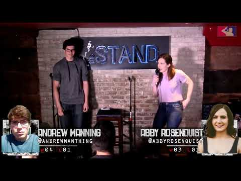 The RoastMasters 5.22.18 Spring Tournament: Andrew Manning vs. Abby Rosenquist