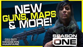 New Guns, Maps, Modes & More!   Modern Warfare Season 1