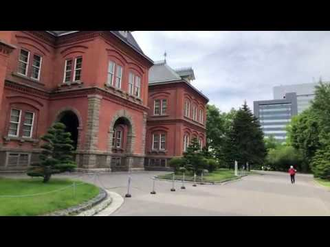 Walking inside Hokkaido's Former Government Office Building, Sapporo, Japan | Mysterious Fahad!