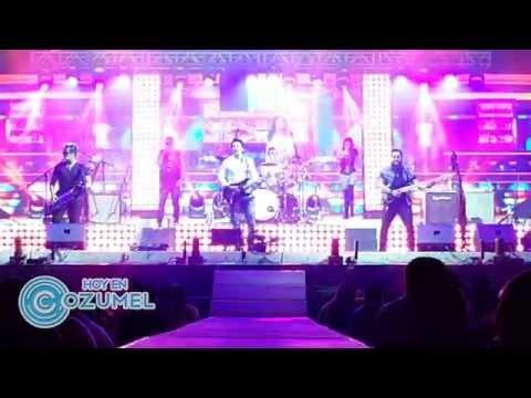 MATUTE BAND en Cozumel arranque de concierto (Tarzan Boy-Baltimora)